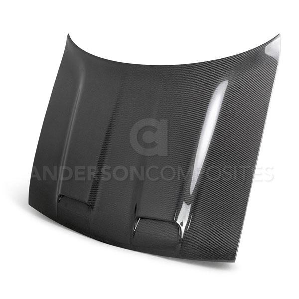 Anderson Composites AC-HD19DGCHHC-RE | Challenger Hellcat Redeye Type-RE Carbon Fiber Hood; 2008-2020