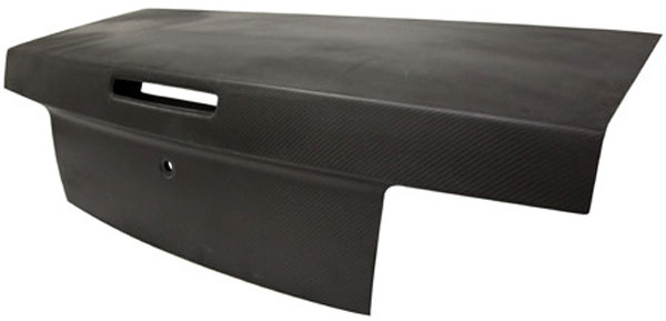 Anderson Composites AC-TL0506FDMU-DRY:  MUSTANG DRY CARBON TRUCK LID MATTE FINISH TYPE-OE, 2005-2009