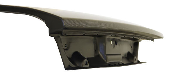 Anderson Composites AC-TL0910DGCH-OE: CHALLENGER CARBON FIBER TRUCK LID TYPE-OE, 2009-2014