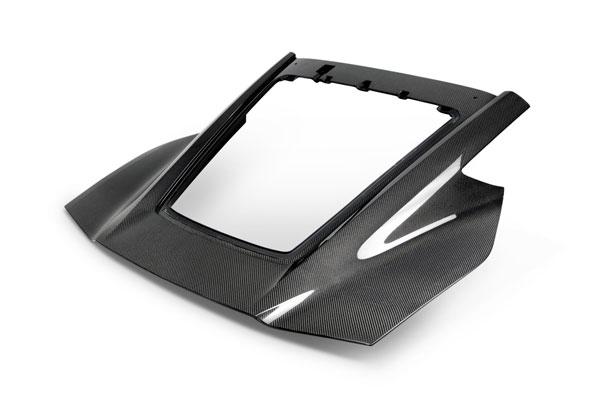 Anderson Composites AC-TL14CHC7-DRY | Corvette C7 DRY Carbon Fiber Rear Hatch Replacement; 2014-2019