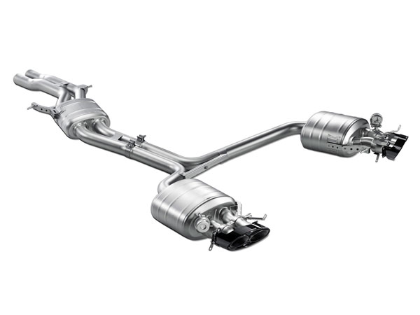 Akrapovic (S-AU/TI/2H)  Audi RS 5 Coupe (B8) Evolution Line (Titanium), 2010-2015