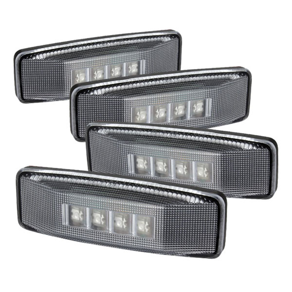 xTune ACC-LED-DR94-FE-C |  Dodge Ram Dually LED Fender Lights - Clear; 1994-2002