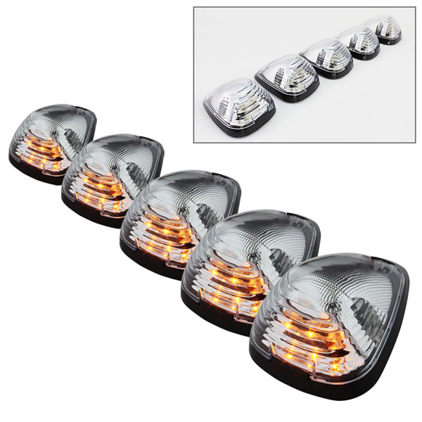 xTune ACC-LED-FDSD99-CR-C |  Ford Super Duty AM LED Cab Roof lights - Clear; 2000-2013