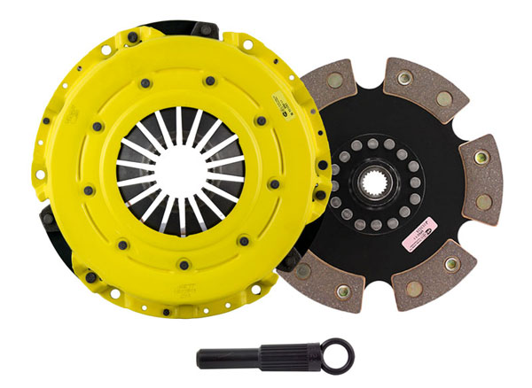 Advanced Clutch Technology (ACT) DC1-HDG6 | ACT HD/Race Sprung 6 Pad Kit Plymouth Valiant Signet 5.2V; 1968-1969