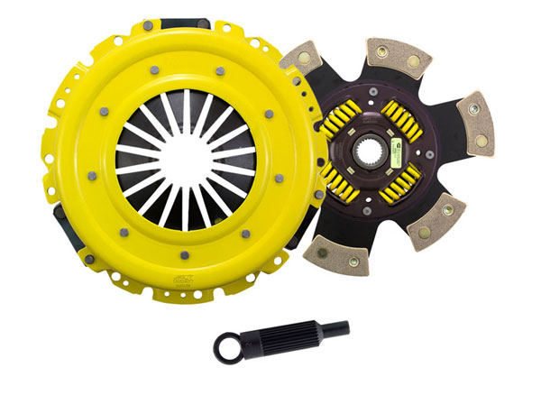 Advanced Clutch Technology (ACT) GM9-SPG6 | ACT Sport/Race Sprung 6 Pad Kit Chevrolet Trailblazer SS 6V; 2006-2006