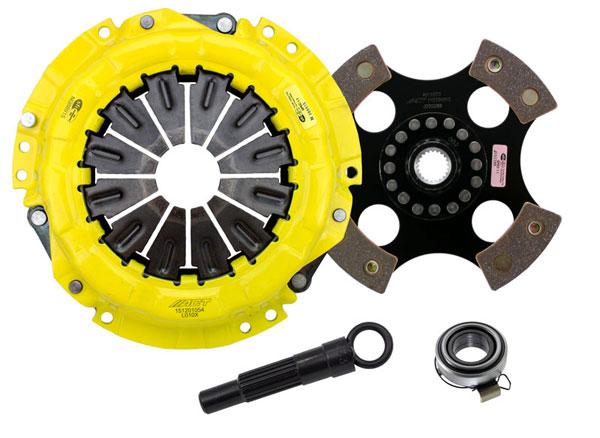 Advanced Clutch Technology (ACT) LE1-XTR4 | ACT XT/Race Rigid 4 Pad Kit Lotus Exige S 240 1.8L; 2008-2010