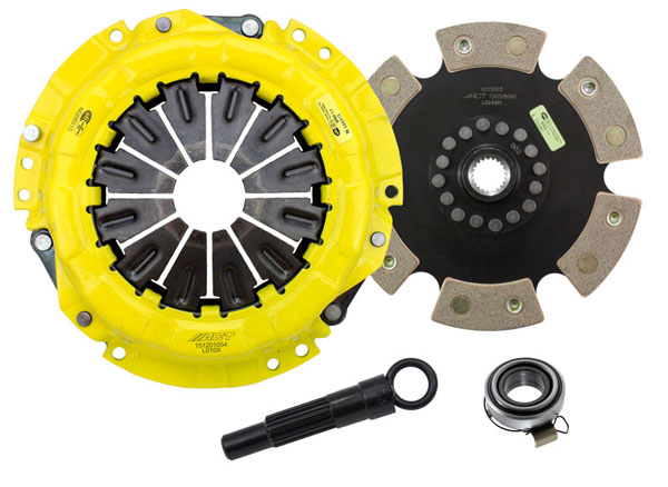 Advanced Clutch Technology (ACT) LE1-XTR6 | ACT XT/Race Rigid 6 Pad Kit Lotus Exige S 240 1.8L; 2008-2010