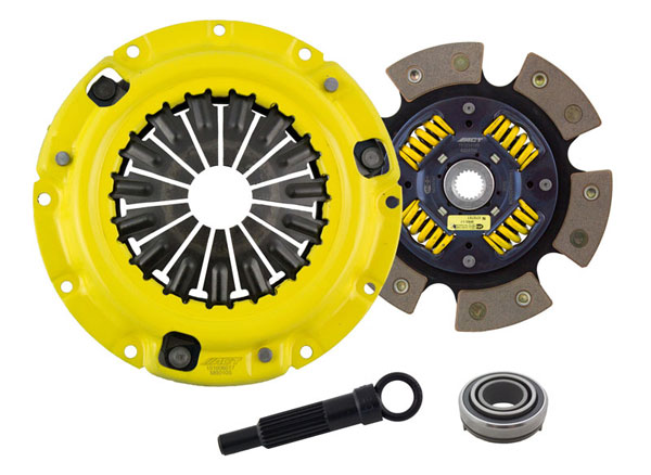 Advanced Clutch Technology (ACT) MB1-SPG6 | ACT Sport/Race Sprung 6 Pad Kit Eagle Talon TSi 2L Turbo; 1990-1998