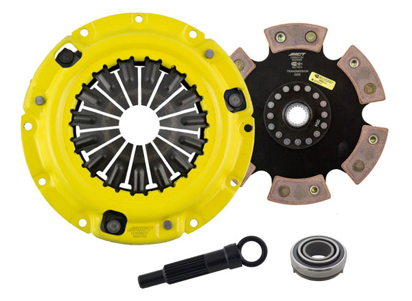 Advanced Clutch Technology (ACT) MB1-SPR6 | ACT Sport/Race Rigid 6 Pad Kit Eagle Talon TSi 2L Turbo; 1990-1998