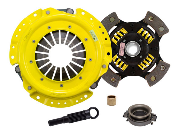 Advanced Clutch Technology (ACT) NA1-HDG4 | ACT HD/Race Sprung 4 Pad Kit Nissan Stanza XE 2.4L; 1990-1992