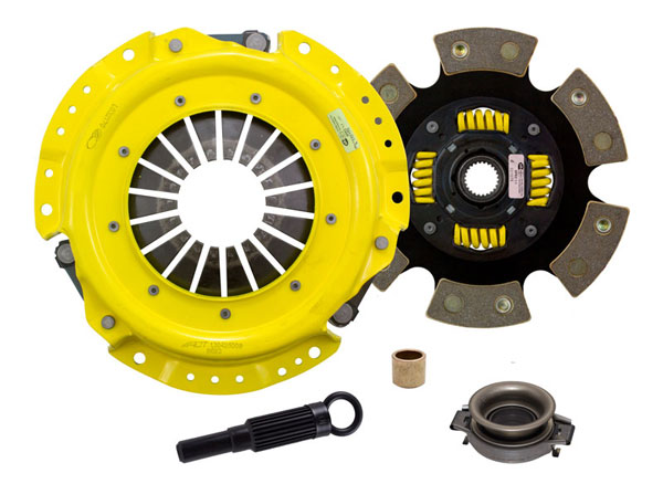 Advanced Clutch Technology (ACT) NA1-HDG6 | ACT HD/Race Sprung 6 Pad Kit Nissan Stanza XE 2.4L; 1990-1992