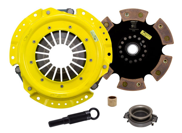Advanced Clutch Technology (ACT) NA1-HDR6 | ACT HD/Race Rigid 6 Pad Kit Nissan Stanza XE 2.4L 1990-1992
