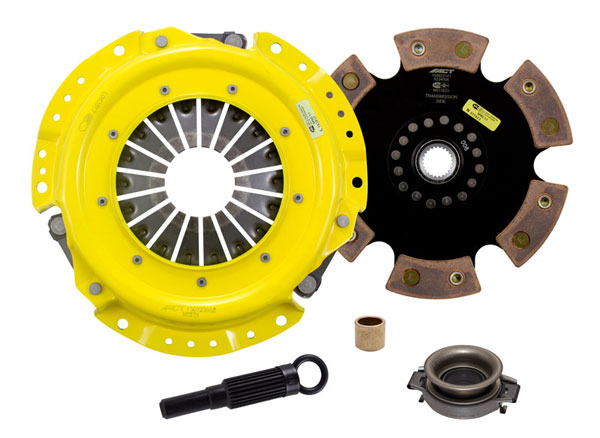 Advanced Clutch Technology (ACT) NA1-XTR6 | ACT XT/Race Rigid 6 Pad Kit Nissan Stanza XE 2.4L; 1990-1992