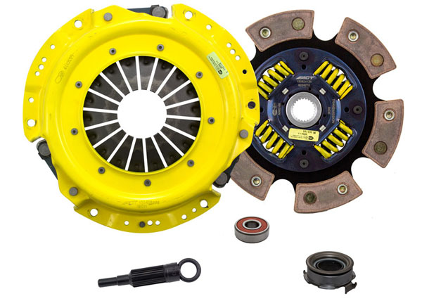 Advanced Clutch Technology (ACT) SB2-HDG6 | ACT HD/Race Sprung 6 Pad Kit Saab 9-2X Linear 2.5H; 2005-2005