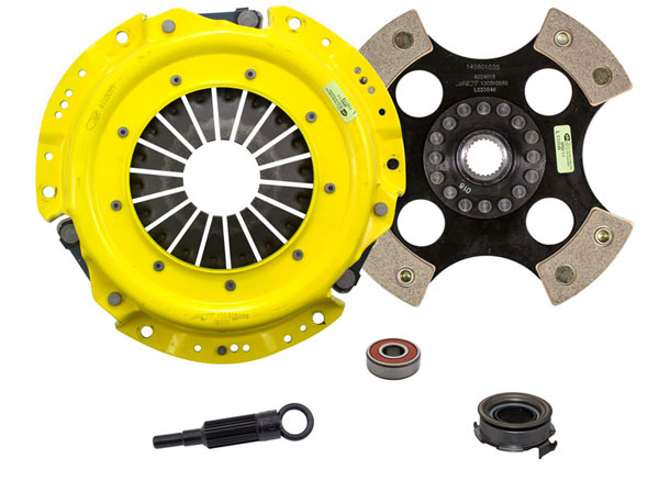 Advanced Clutch Technology (ACT) SB2-HDR4 | ACT HD/Race Rigid 4 Pad Kit Saab 9-2X Linear 2.5H 2005-2005