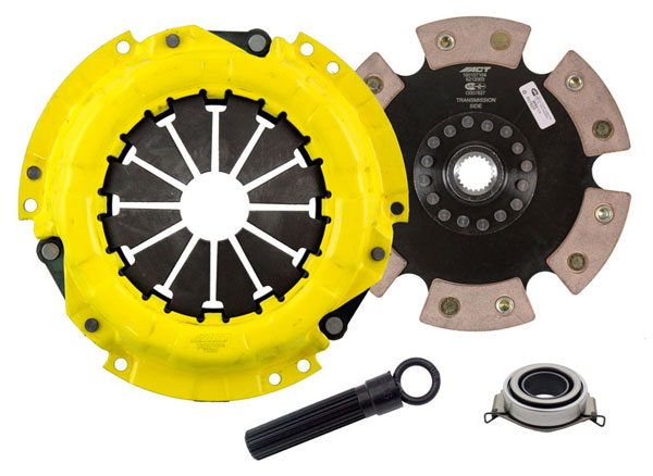 Advanced Clutch Technology (ACT) SC1-HDR6 | ACT HD/Race Rigid 6 Pad Kit Scion xD Base 1.8L 2008-2014