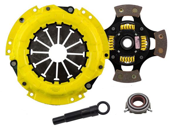 Advanced Clutch Technology (ACT) TC1-SPG4 | ACT Sport/Race Sprung 4 Pad Kit Geo Prizm LSi 1.6L 1991-1991