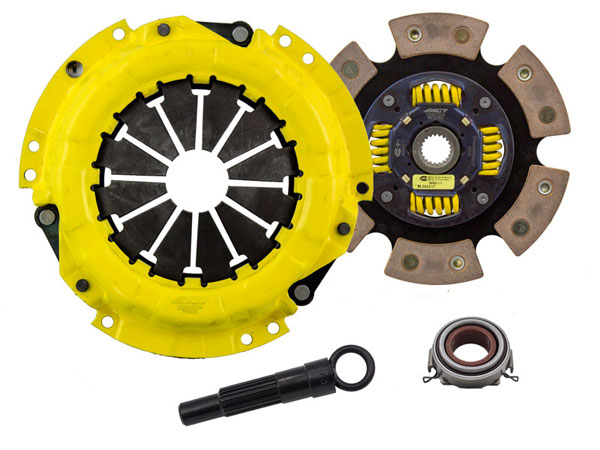 Advanced Clutch Technology (ACT) TC1-SPG6 | ACT Sport/Race Sprung 6 Pad Kit Geo Prizm LSi 1.6L; 1991-1991