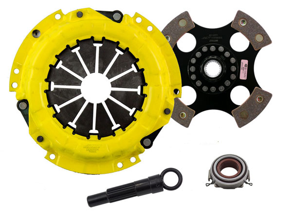 Advanced Clutch Technology (ACT) TC1-SPR4 | ACT Sport/Race Rigid 4 Pad Kit Geo Prizm LSi 1.6L 1991-1991