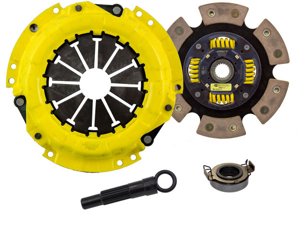 Advanced Clutch Technology (ACT) TC2-SPG6 | ACT Sport/Race Sprung 6 Pad Kit Geo Prizm LSi 1.6L; 1991-1997