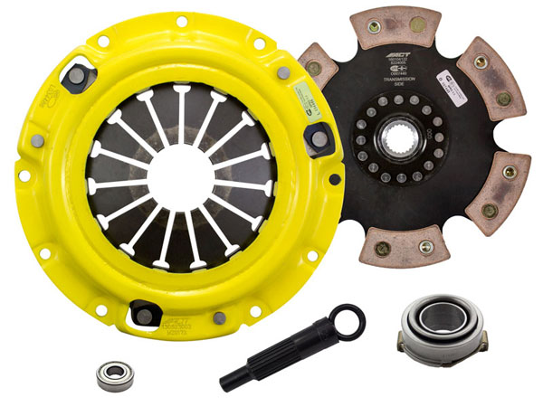 Advanced Clutch Technology (ACT) Z61-XTR6 | ACT XT/Race Rigid 6 Pad Kit Kia Sportage EX 2L 1995-2001