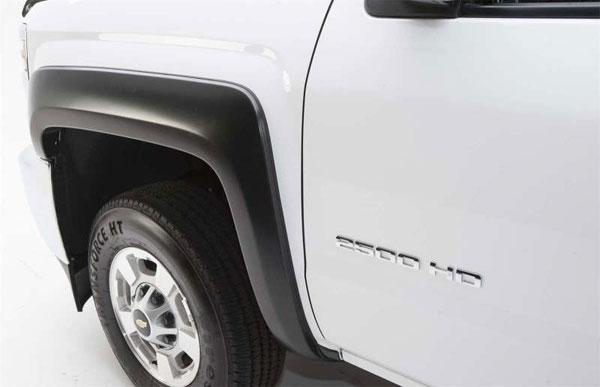 EGR 753014fwb | 92-96 Ford F150/Bronco / 92-98 Super Duty Rugged Look Fender Flares - Front Pair (753014F); 1992-1996