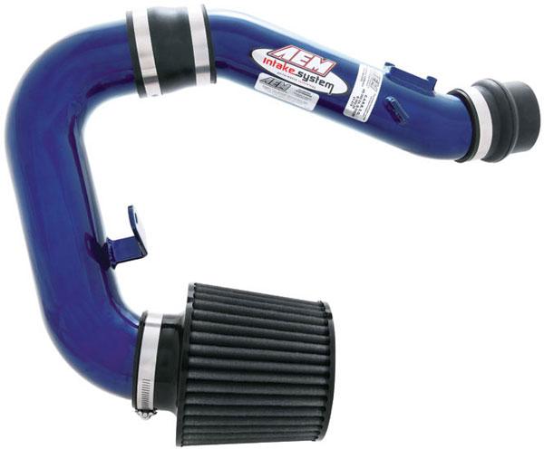 AEM 21-474B |  Cold Air Intake System SUBARU IMPREZA WRX - Blue; 2002-2004