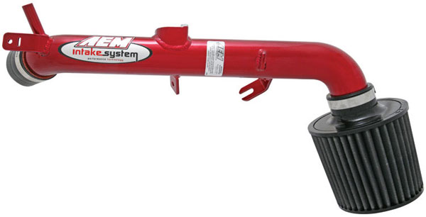 AEM 21-573R |  Cold Air Intake System TOYOTA YARIS - Red; 2007-2007