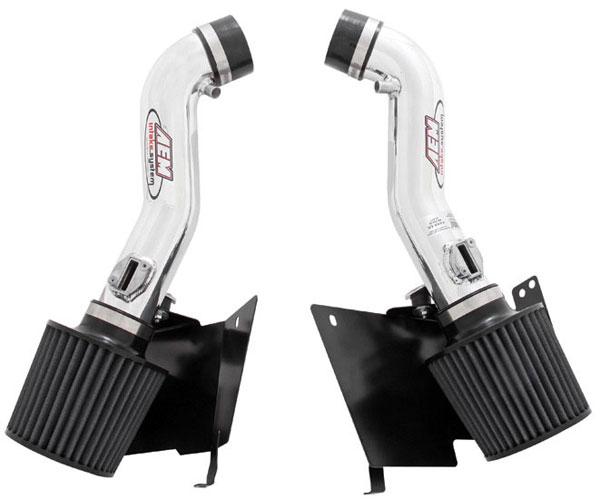 AEM 21-677P:  Cold Air Intake System NISSAN 350Z DUAL INLET WITH H / S - Polished