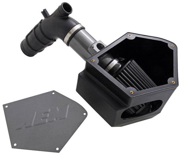 AEM 21-678C |  Cold Air Intake System MITSUBISHI Evolution X W / Airbox - Silver Gray