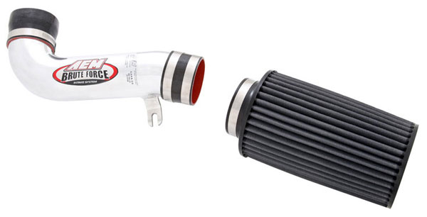 AEM 21-8105DP    Brute Force Intake System FORD MUSTANG GT 87-93 W/MAF - Polished