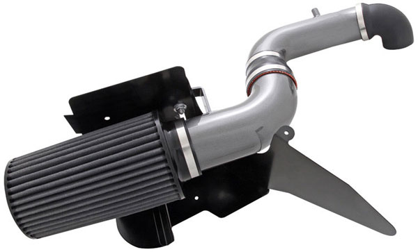 AEM 21-8304DC:  Brute Force Intake System JEEP WRANGLER 91-95 2.5L 4CYL - Silver Gray