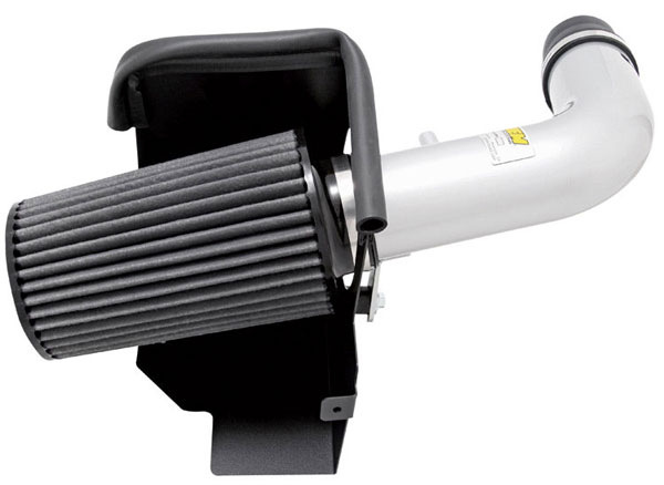 AEM 21-8314DP:  Brute Force Intake System JEEP WRANGLER 07-08 3.8L V6 - Polished