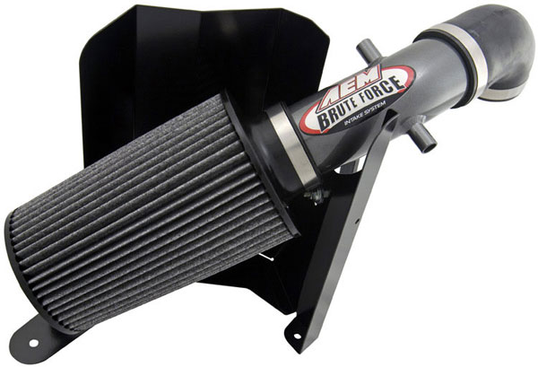 AEM 21-8315DC |  Brute Force Intake System JEEP CHEROKEE 92-01 4.0L - Silver Gray