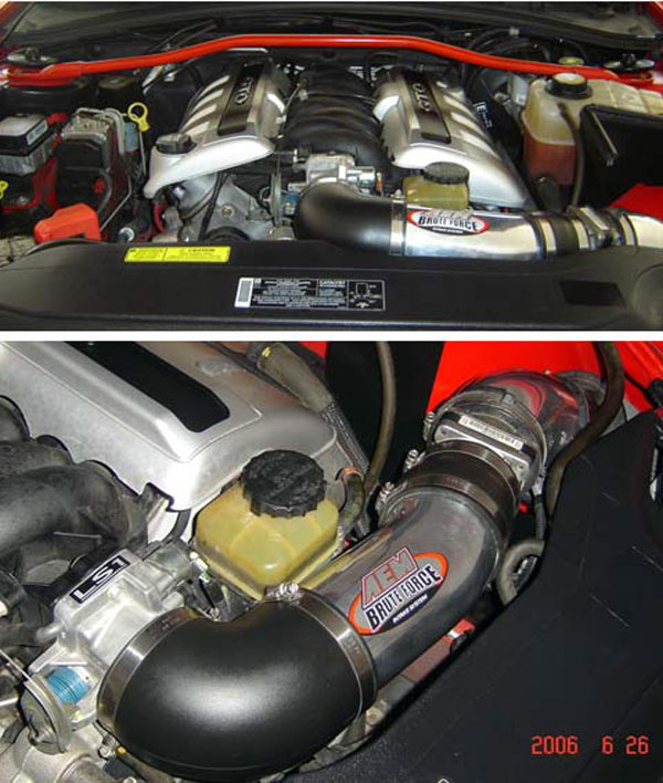 AEM 218016DP |  Cold Air Intake Brute Force - Polished 2004 GTO