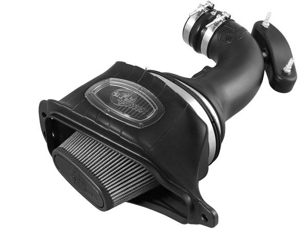 AFE 51-74201:  Corvette C7 6.2L Momentum HD Stage 2 Si Cold Air Intake, Grey Pro Dry S Filter With Air Box
