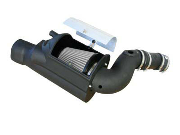 AFE Power 51-80392 | AFE Ford Power Stroke 6.0L Pro Dry 5 Stage 2 Si Cold Air Intake System; 2003-2007