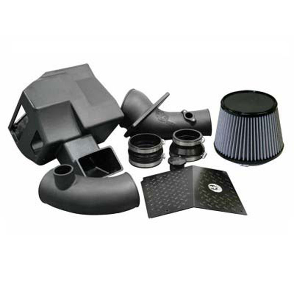 AFE Power 51-80782 | aFe Power MagnumFORCE Stage-2 Si PRO DRY S Intake Systems; GM Diesel Trucks V8-6.6L (td) LB7; 2001-2004
