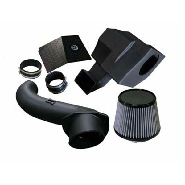 AFE Power 51-81332 | aFe Power MagnumFORCE Stage-2 Si PRO DRY S Intake Systems; GM Diesel Trucks 07.5-10 V8-6.6L (td) LMM; 2007-2010