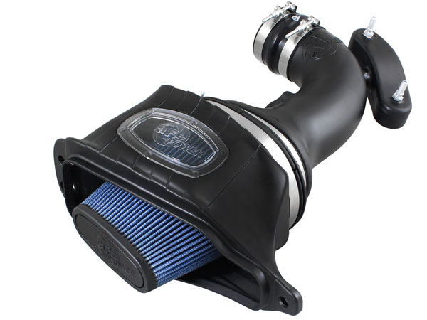 AFE Power 54-74201 | AFE Corvette C7 6.2L Momentum Cold Air Intake, Blue Pro 5 R Filter With Air Box; 2014-2019