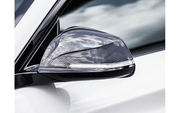 Akrapovic WM-BM/CA/1/G |  2016+ BMW M2 (F87) Carbon Fiber Mirror Cap Set - High Gloss