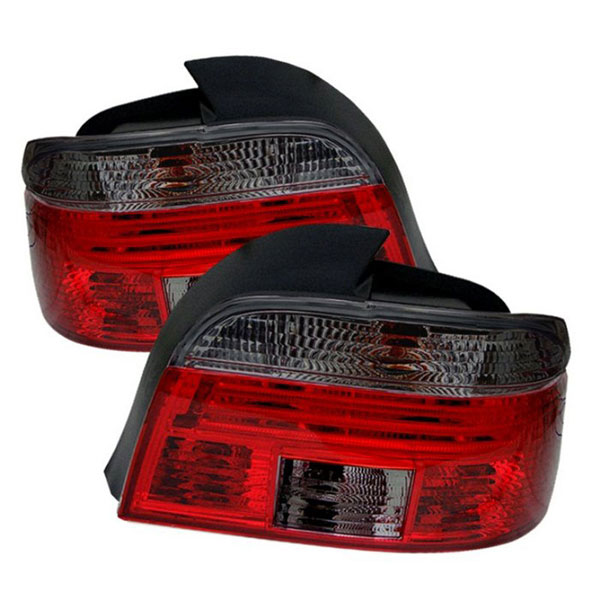 xTune ALT-CI-BE3997-RSM    BMW E39 5-Series Tail Light - Red Smoke; 1997-2003