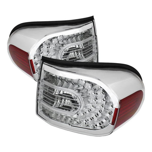 xTune ALT-CL-TFJ07-LED-C |  Toyota FJ Cruiser LED Tail Lights - Clear; 2007-2011