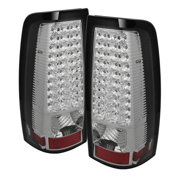 xTune ALT-ON-CS03-LED-C |  Chevrolet Silverado 1500/2500/3500 03-06 (Do not fit 03 3500. Stepside. Barn Door) LED Tail Lights - Chrome