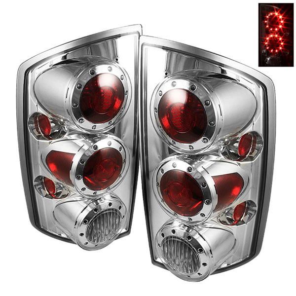 xTune ALT-ON-DRAM02-LED-C:  Dodge Ram 1500 02-06 LED Tail Lights - Chrome