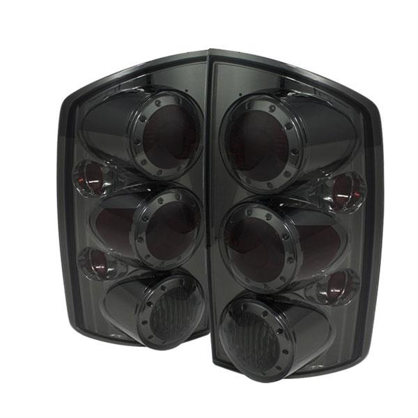 xTune ALT-ON-DRAM02-LED-SM |  Dodge Ram 1500 02-06 LED Tail Lights - Smoke