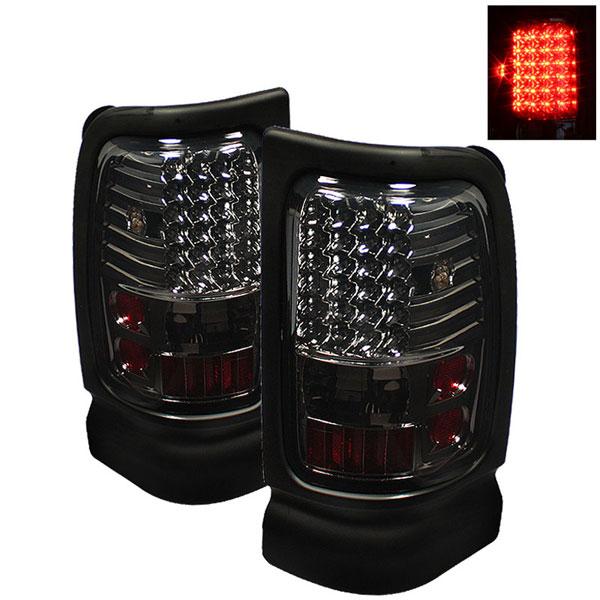 xTune ALT-ON-DRAM94-LED-SM    Dodge Ram 2500/3500 94-02 LED Tail Lights - Smoke