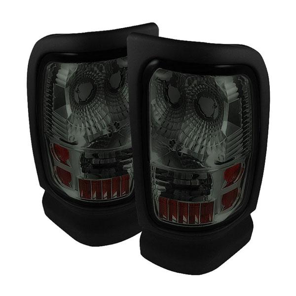 xTune ALT-ON-DRAM94-SM |  Dodge Ram 2500/3500 94-01 Altezza Tail Lights - Smoke
