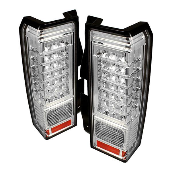 xTune ALT-ON-HH306-LED-C |  Hummer H3 06-09 LED Tail Lights - Chrome
