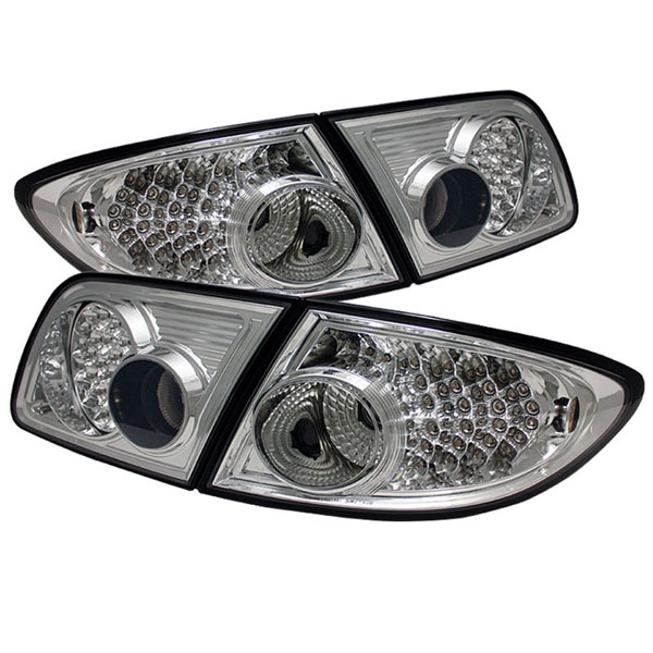 xTune ALT-ON-M603-LED-C |  Mazda 6 03-08 4/5DR (Not fit Wagon) LED Tail Lights - Chrome